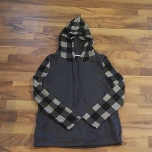 Plaid Hoody